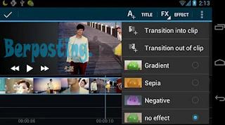 Cara Mengedit Video Di Hp Android Dengan Mudah