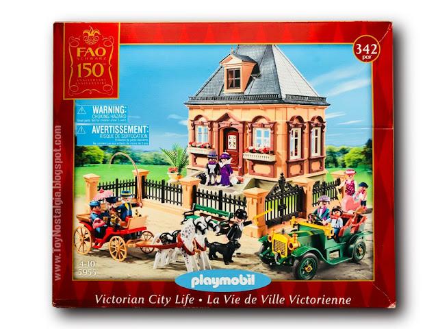 Playmobil 5955. Casa Victoriana F.A.O. Schwarz  150 aniversario (2012) Victorian House
