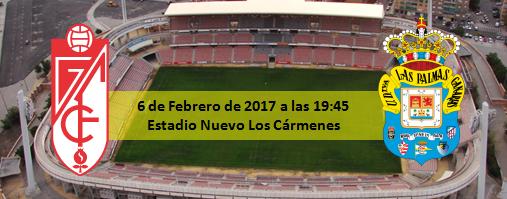 Previa Granada CF - UD Las Palmas 6 Febrero 19:45