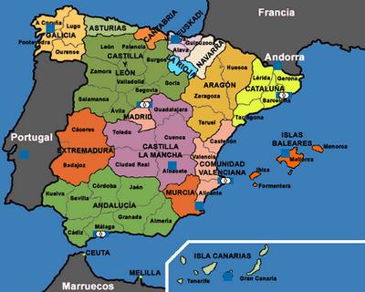 mapa de espanha zaragoza ESPANHA | Geografia em Movimento: mapa de espanha zaragoza
