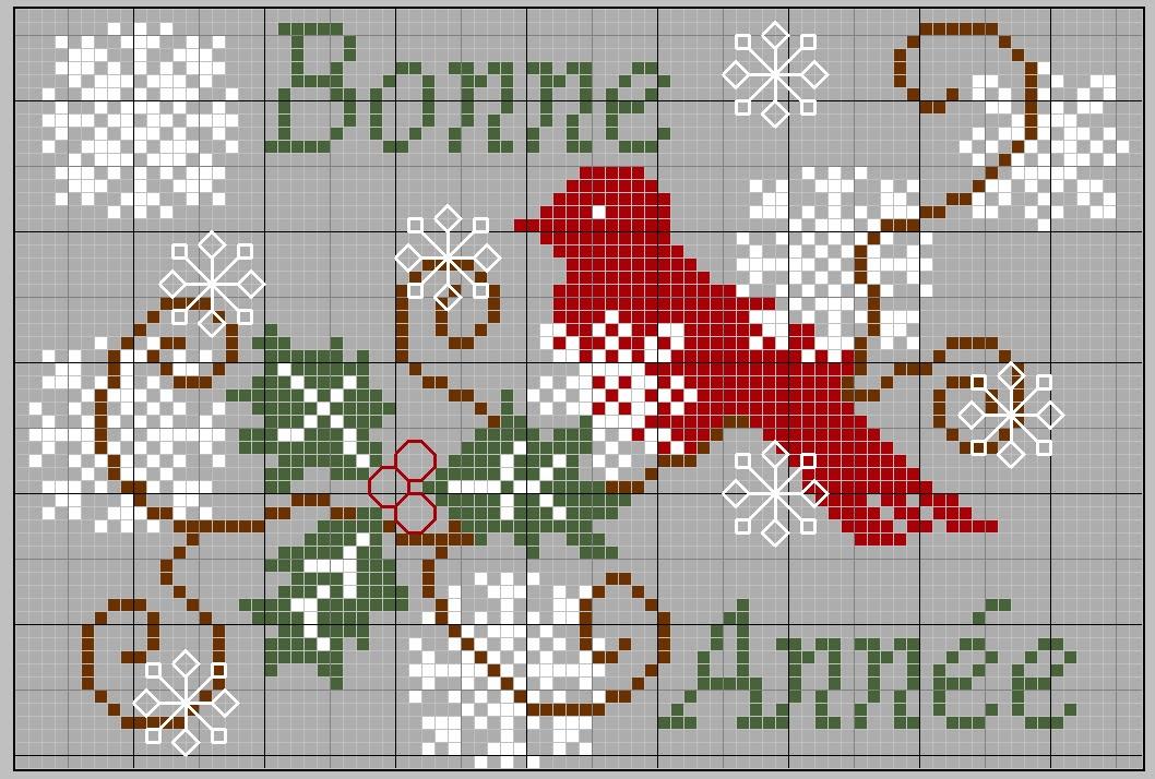 Piccolo Schemi Punto Croce Natale.Schemi Per Punto Croce Da Scaricare Gratis