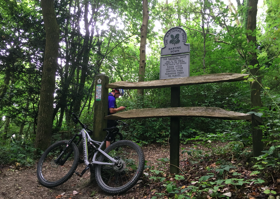 FitBits | Cycling the South Downs Way - Petersfield to Amberley - Harting Down