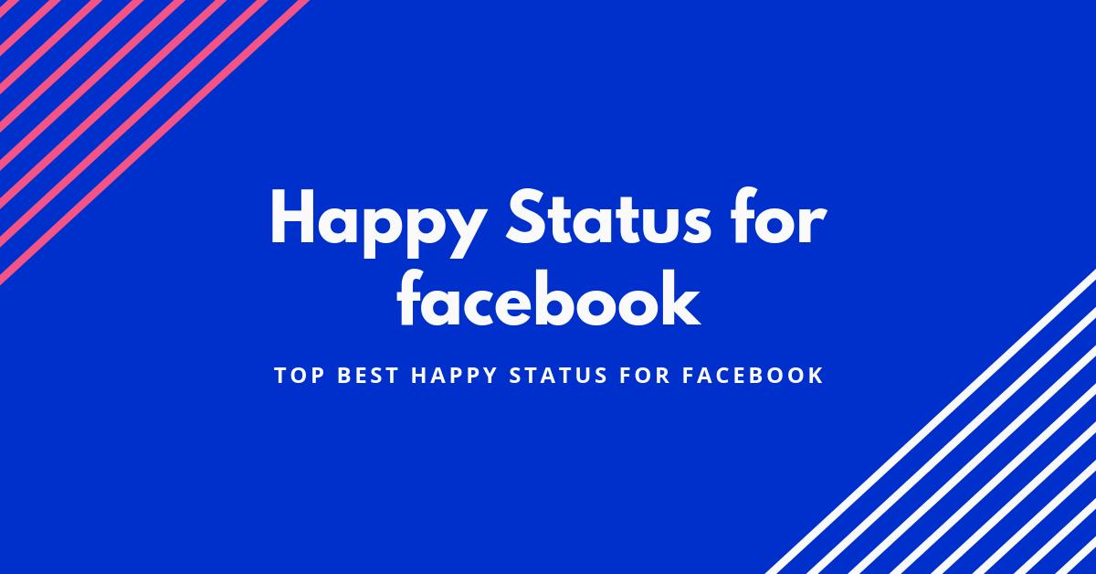 Best latest happy status for whatsapp | Happiness Status (2019)