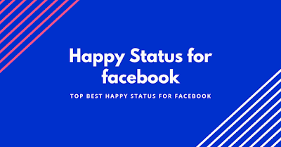 Happy Status for facebook