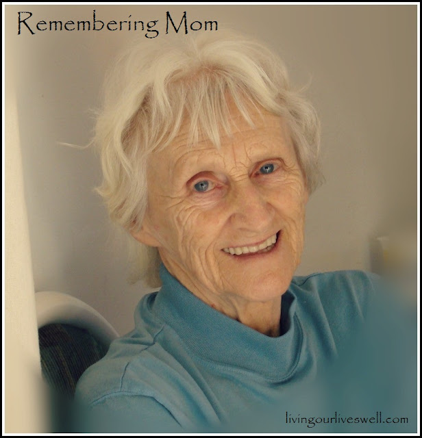 Missing Mom and looking forward to some glad morning in the upper garden there.