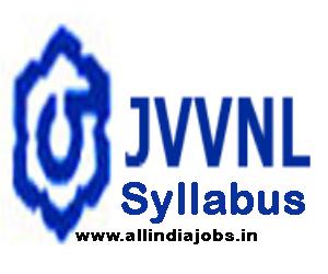 JVVNL Syllabus 2017