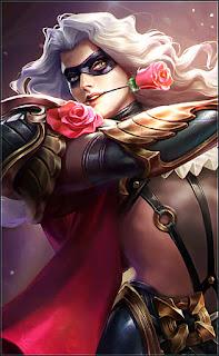 Lancelot Masked Knight Heroes Assassin of Skins V1