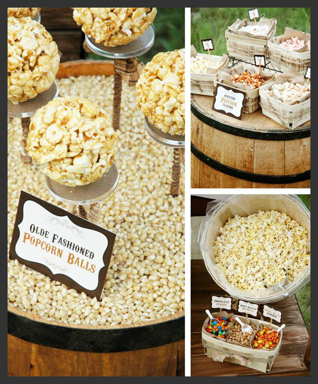 Food Bar Ideas For Weddings