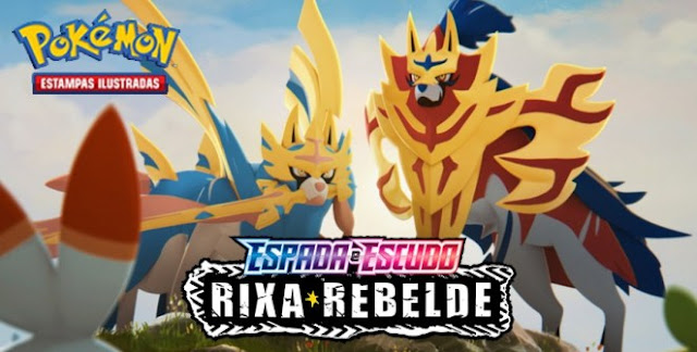 Pokémon Estampas Ilustradas, Espada e Escudo — Rixa Rebelde