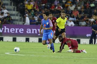India hold Qatar - FIFA WCQ