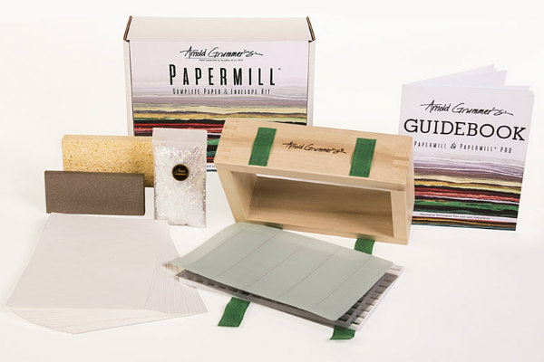 Arnold Grummer's Complete Papermill Kit contents