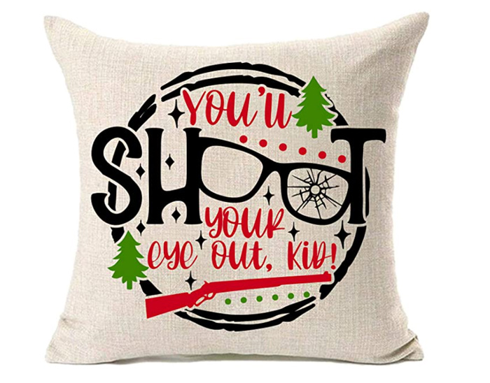 Christmas Story Pillow