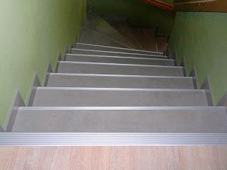 Betontreppe renovieren - Treppenprofil-System Oberer Austritt