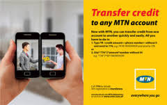 Mtn share and sell airtime transfer