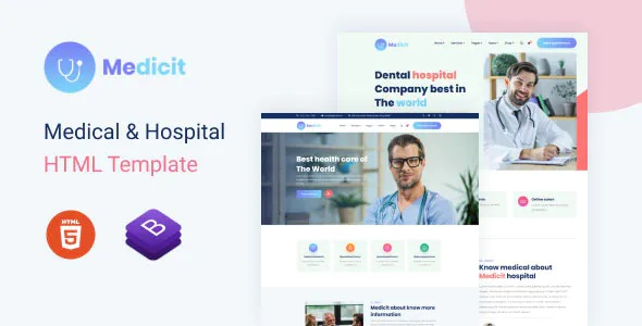 Best Medical and Health HTML Template