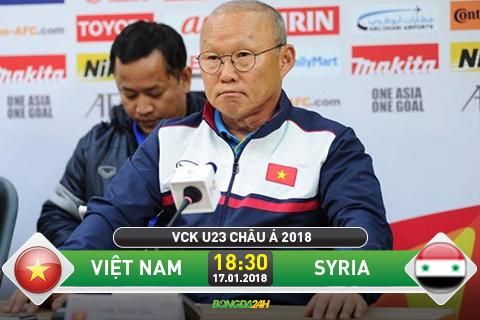 Nhận định Syria U23 vs Việt Nam U23, 18h30 ngày 17/01 (Vòng 3 - U23 Châu Á) 1