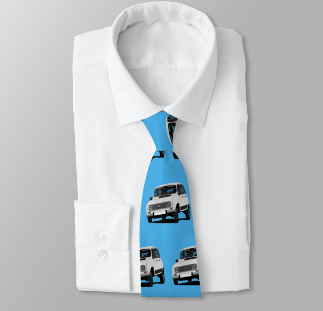 Classic Renault 4 tie