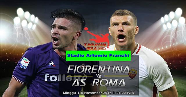 Fiorentina vs AS Roma 5 November 2017