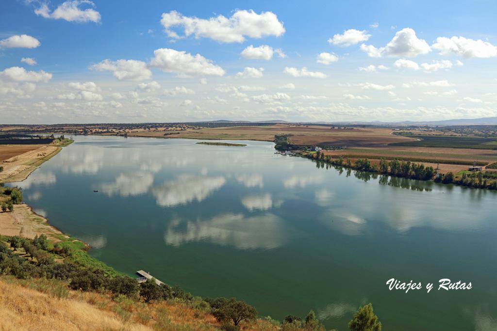 Vista del Guadalquivir desde Juromenha