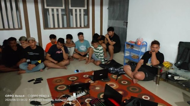 19 Pemuda di Sulsel Pembobol Kartu Kredit WNI-WNA Diamankan Polisi
