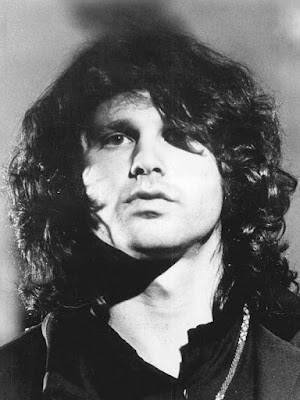 Promotional photograph of Jim Morrison during The Smothers Brothers Show in 1968