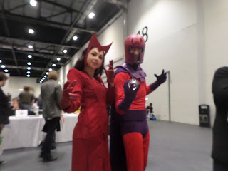 Scarlet Witch and Magneto at LSCC 2016