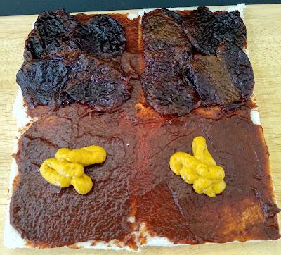 sandwich Con Carne Picada De Cerdo Y Salsa De Ciruelas Katsu {menchi Katsu, Receta Japonesa}