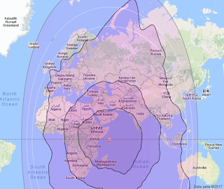 Satelit NSS 5 50.5°E