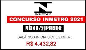 Inmetro envia pedido de novo concurso com 430 vagas.  Salários até R$17.885,54