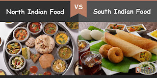 north indian food vs south indian food - What is the difference between North and South India?
