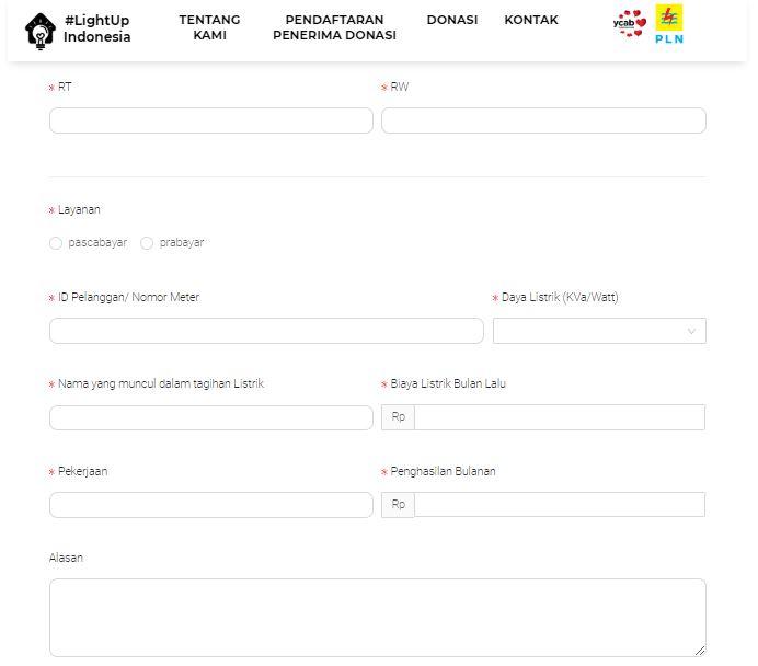Cara Mendapatkan Diskon Listrik Pelanggan 900 VA dan 1.300 VA dari PLN dan YCAB