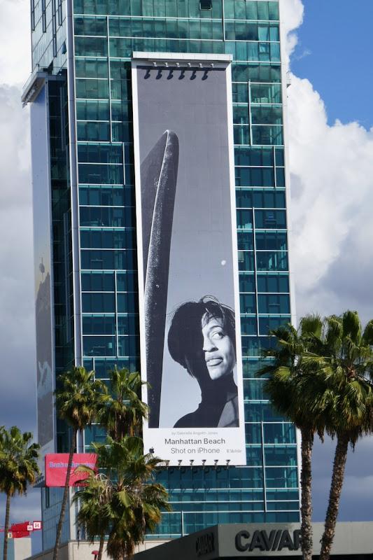 Manhattan Beach Shot on iPhone billboard