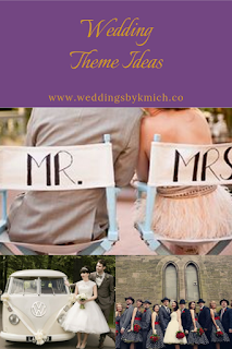 wedding theme ideas - wedding planning services - inspirational blog by K'Mich Weddings in Philadelphia PA
