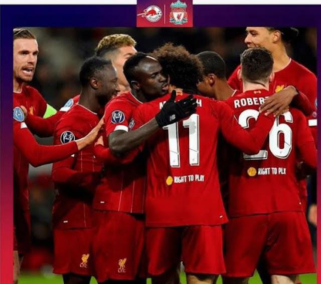 Salzburg 0 - 2 Liverpool champions league highlight