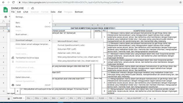 Cara hack file di google drive dengan cepat untuk mendownload  Hack Google Drive Untuk Download Aplikasi Buku Kerja Guru
