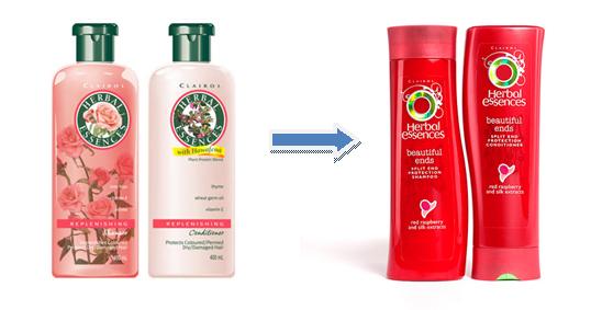 Herbal essence target market