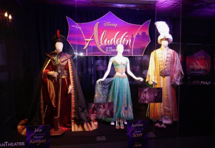 Aladdin movie costumes El Capitan Theatre