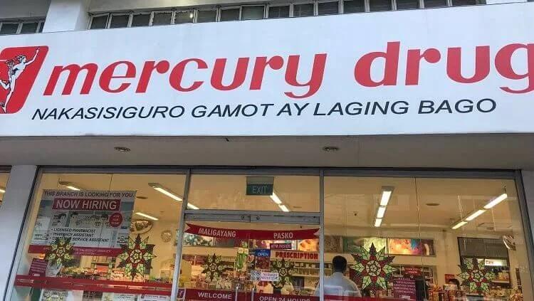 Mercury Drug Makati Ave. Branch
