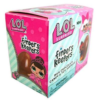 Коробочка с шоколадным яйцом L.O.L. Surprise