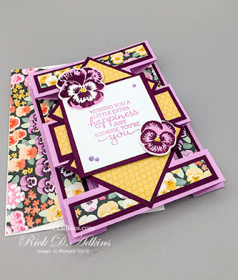 I created a fun Tower Card fun Fold card for the May 2021 Blogging Friends Blog Hop.  Click to learn more