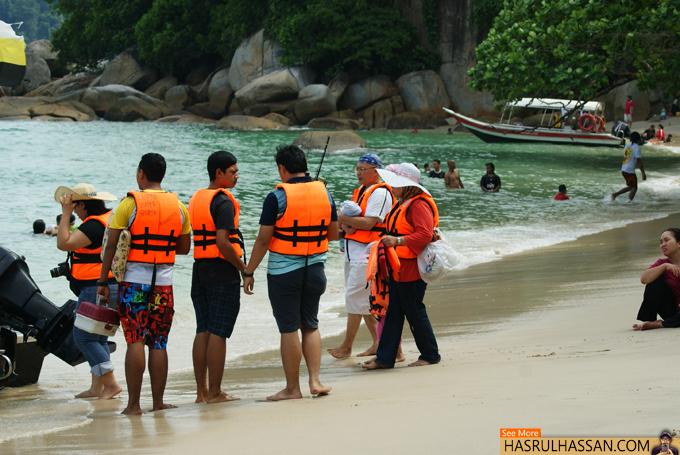Lokasi Pantai-Pantai Menarik di Pulau Pangkor