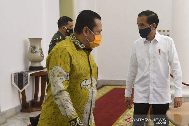 Presiden Jokowi dan Pimpinan MPR Bicarakan RUU HIP di Istana Bogor, Ini Hasilnya