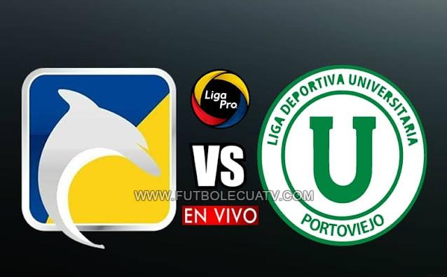Delfín se mide ante Liga de Portoviejo en vivo a partir de las 15h30 horario de nuestro país, por la jornada cuatro del campeonato ecuatoriano, siendo emitido por GolTV Ecuador a jugarse en el campo Jocay. Con arbitraje principal de Guillermo Guerrero.