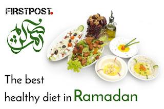 The best healthy diet in Ramadan