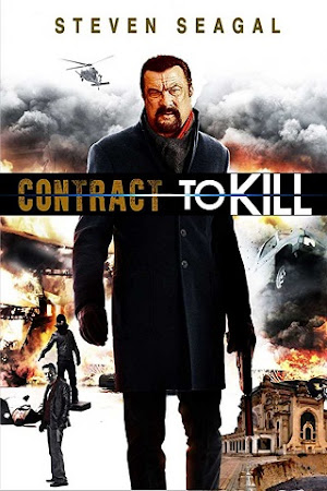 Poster Of Free Download Contract to Kill 2018 300MB Full Movie Hindi Dubbed 720P Bluray HD HEVC Small Size Pc Movie Only At worldfree4u.com