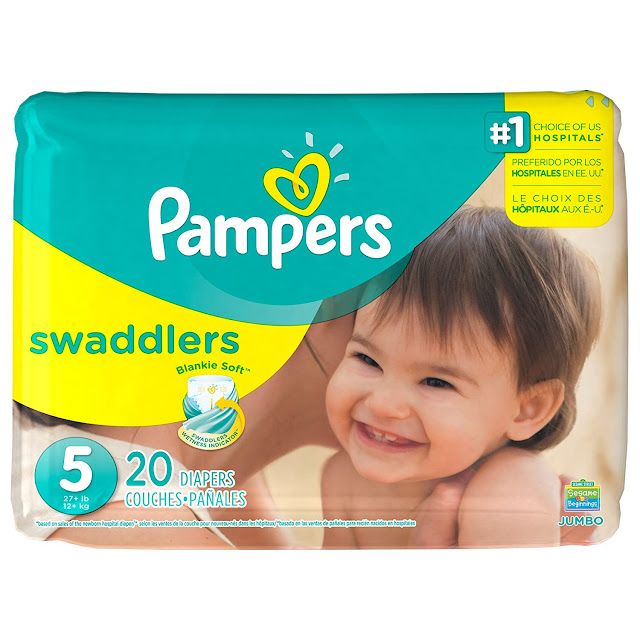 Pampers Swaddlers Soft and Absorbent Diapers