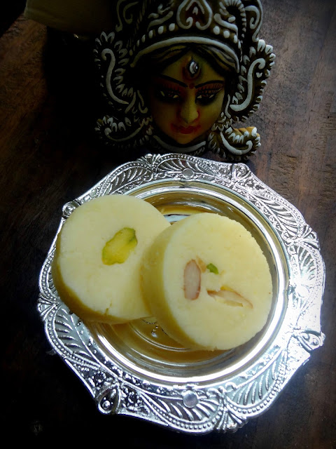 Malai pedha/doodh pedha for Diwali made using home made condensed milk milk powder for festival easy beginner recipe