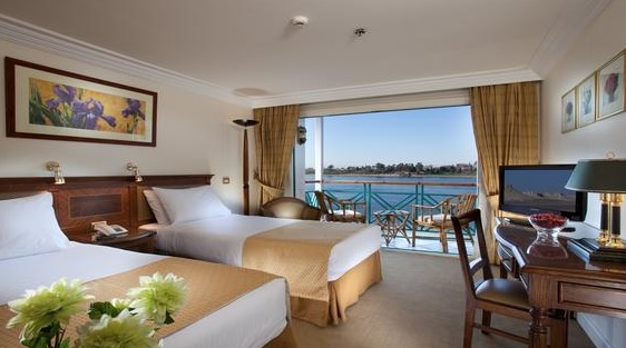 Luxury Nile Cruise Cabin