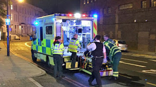 One dead and ten injured in attack next to a mosque in London