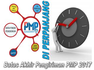 Batas Akhir Pengiriman PMP 2017 di Perpanjang